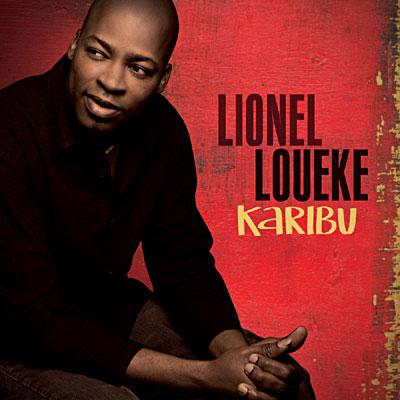 LIONEL LOUEKE - Karibu cover
