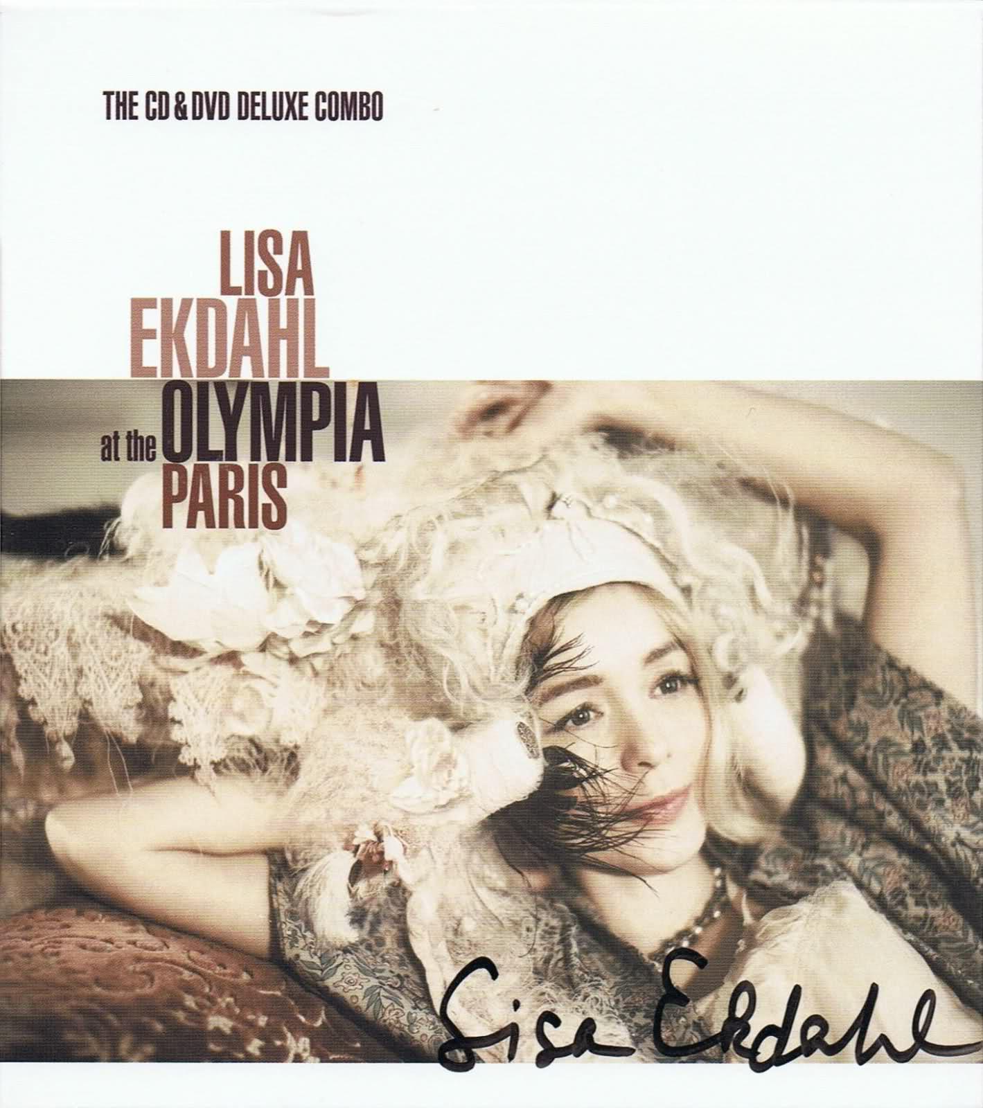 LISA EKDAHL - Lisa Ekdahl At The Olympia, Paris cover