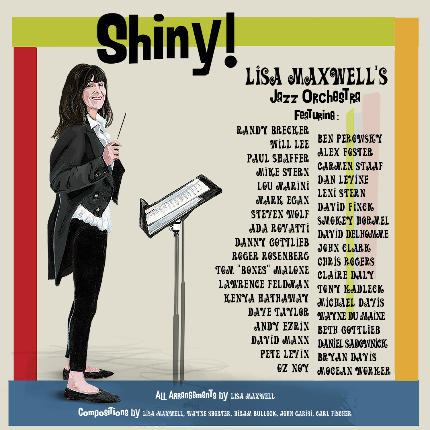 LISA MAXWELL - Shiny! cover