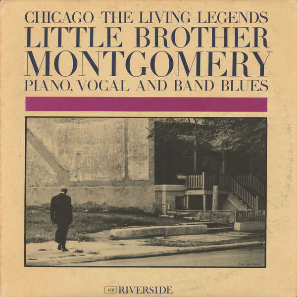 LITTLE BROTHER MONTGOMERY - Chicago: The Living Legends cover