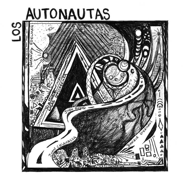 LOS AUTONAUTAS - Balcón India cover