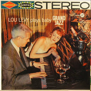 LOU LEVY - Plays Baby Grand Jazz cover