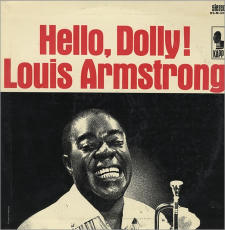 LOUIS ARMSTRONG - Hello, Dolly cover