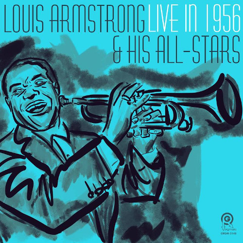 LOUIS ARMSTRONG - Live In 1956 cover