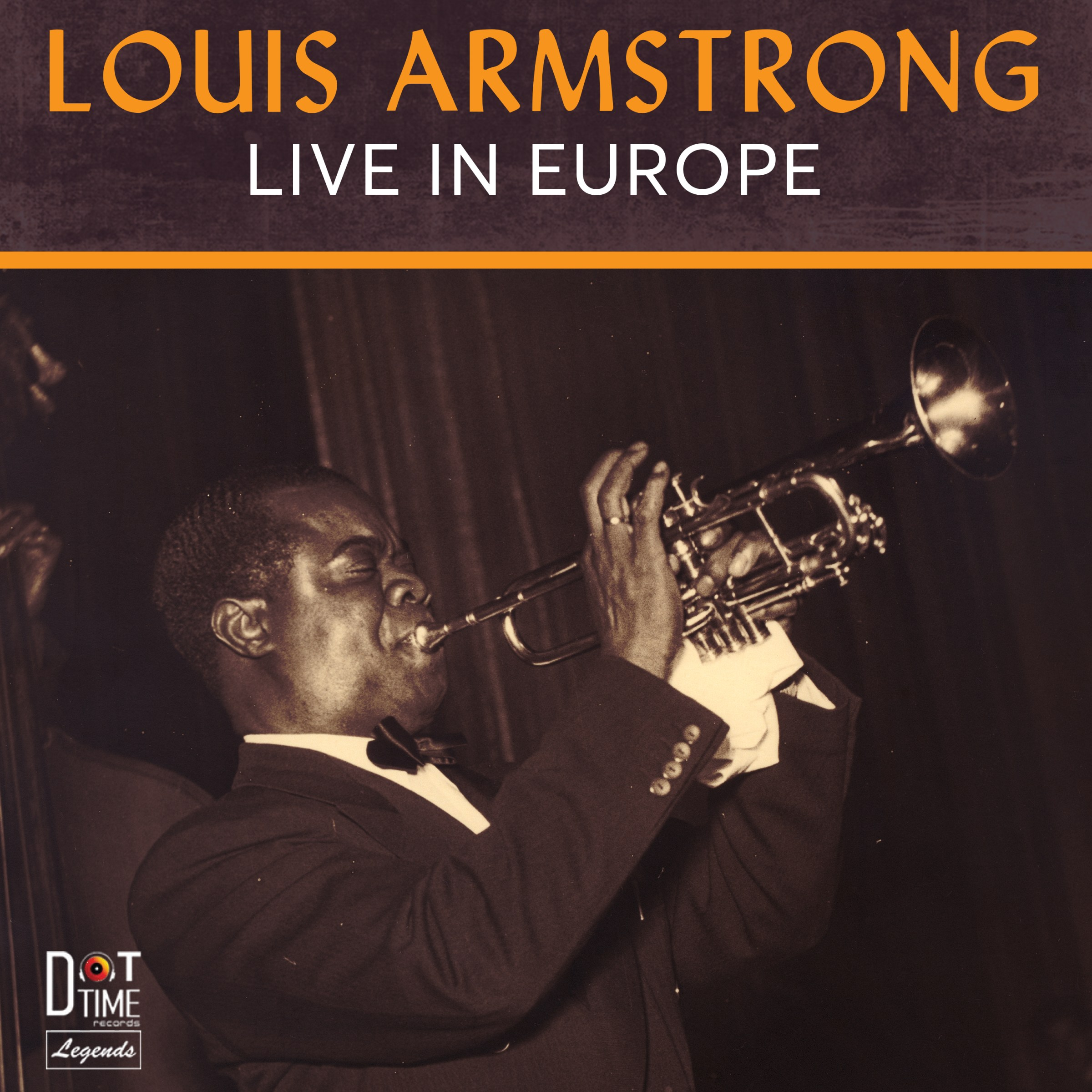 LOUIS ARMSTRONG - Live in Europe cover