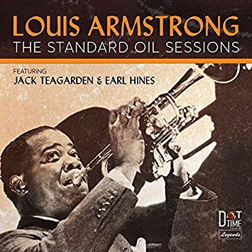 LOUIS ARMSTRONG - The Standard Oil Sessions cover