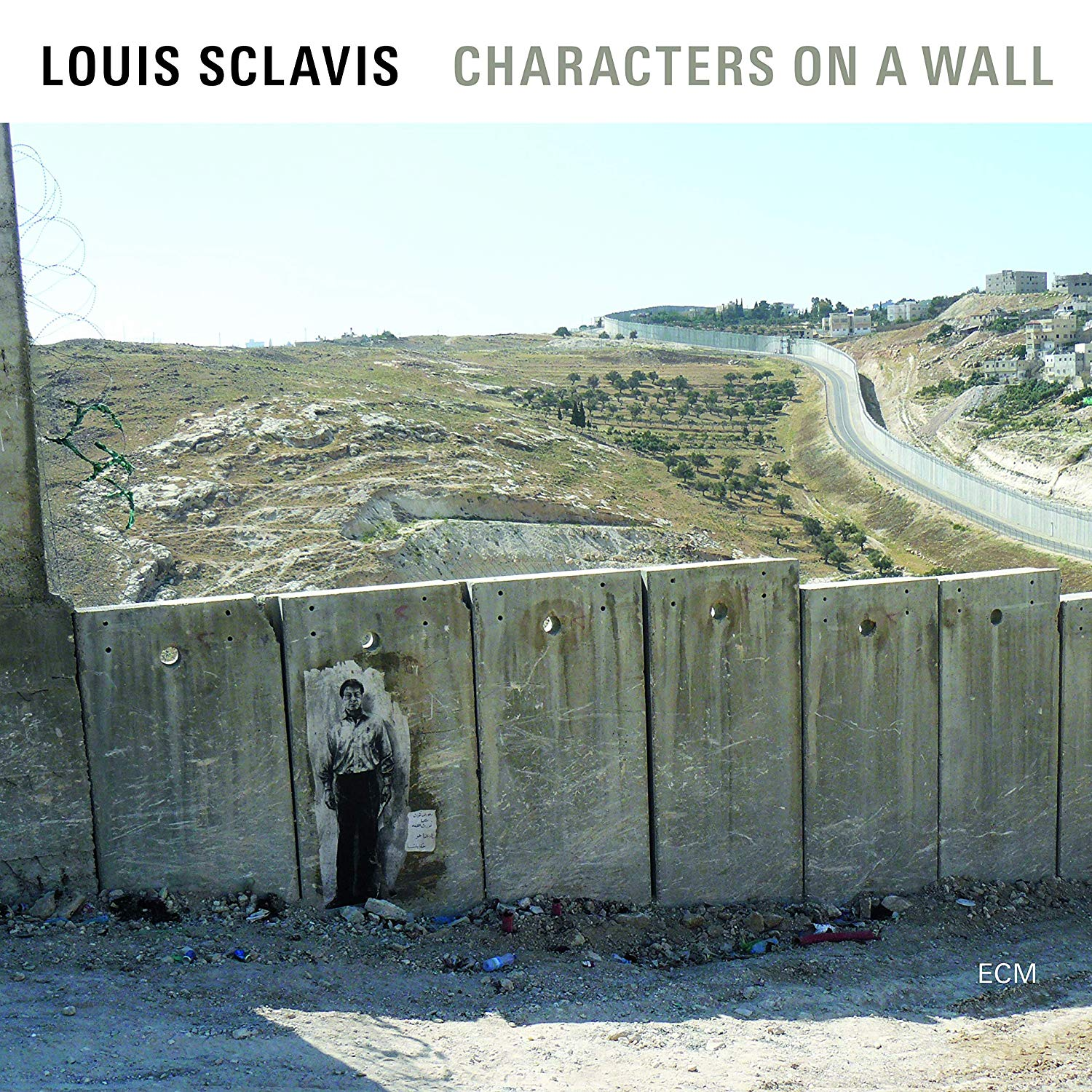 LOUIS SCLAVIS - Characters on a Wall cover