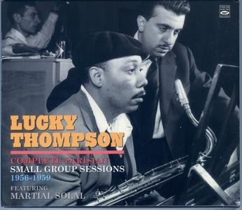 LUCKY THOMPSON - Complete Parisian Small Group Sessions 1956-1959) cover