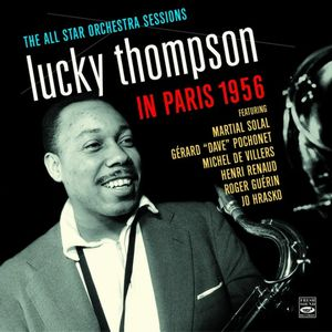 LUCKY THOMPSON - In Paris 1956 cover
