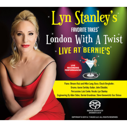 LYN STANLEY - Lyn Stanley's Favorite Takes-London With A Twist- Live At Bernie's cover