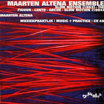 MAARTEN ALTENA - Muziekpraktijk | Music + Practice cover