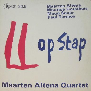 MAARTEN ALTENA - Op Stap cover