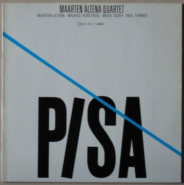 MAARTEN ALTENA - Pisa cover