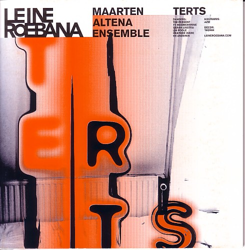 MAARTEN ALTENA - Terts cover