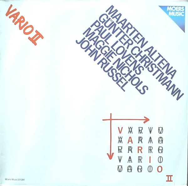 MAARTEN ALTENA - Vario II cover