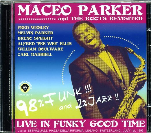 MACEO PARKER - Live In Funky Good Time cover