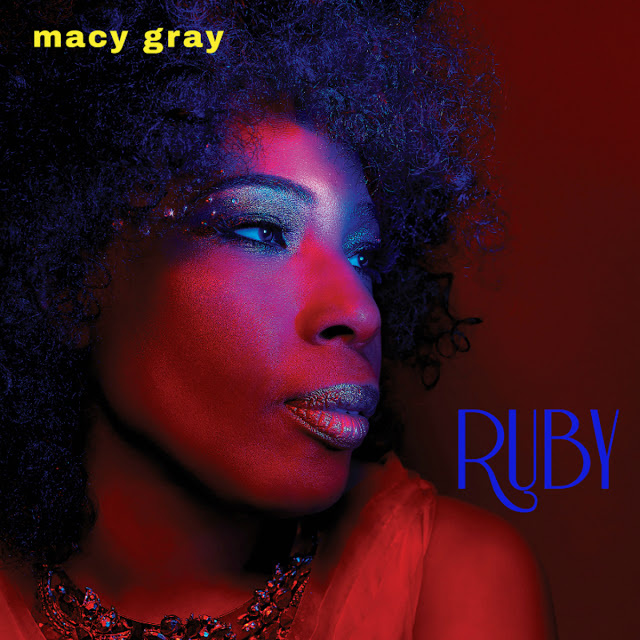 MACY GRAY - Ruby cover
