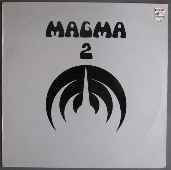 MAGMA - 2 (aka 1001° Centigrades) cover