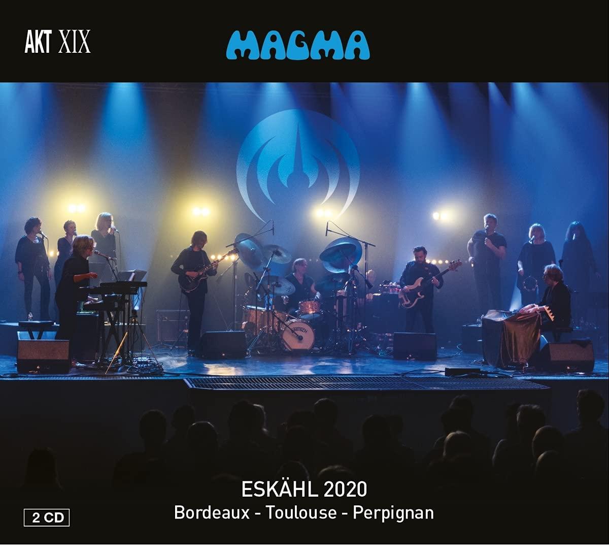 MAGMA - Eskahl 2020 : Live in Bordeaux/Toulouse/Perpignan cover