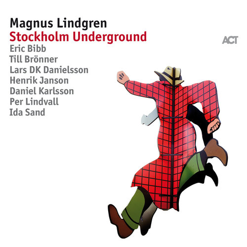 MAGNUS LINDGREN - Stockholm Underground cover