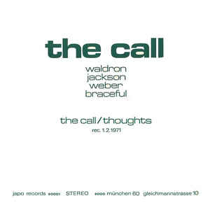 MAL WALDRON - The Call cover