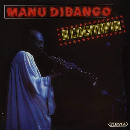 MANU DIBANGO - A L'Olympia cover