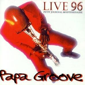 MANU DIBANGO - Live 96 - Papa Groove cover
