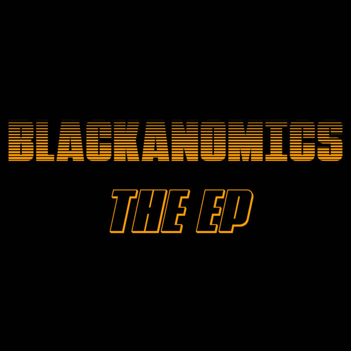 MARC CARY - Blackanomics - The EP cover