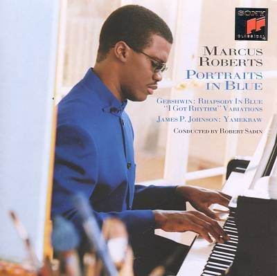 MARCUS ROBERTS - Portraits in Blue cover