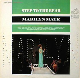 MARILYN MAYE - Step To The Rear cover