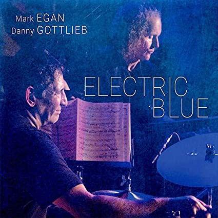MARK EGAN - Mark Egan, Danny Gottlieb : Electric Blue cover