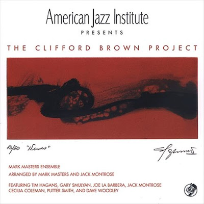 MARK MASTERS ENSEMBLE - Clifford Brown Project cover