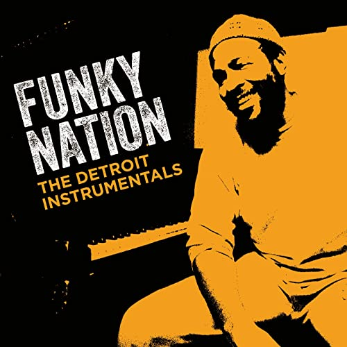 MARVIN GAYE - Funky Nation : The Detroit Instrumentals cover