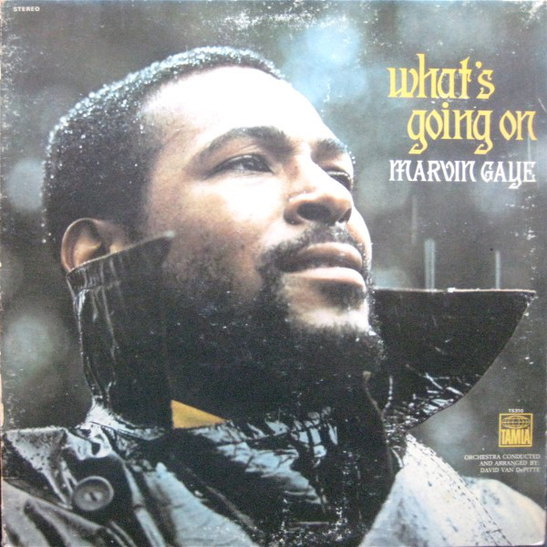 MARVIN GAYE - What's Going On cover