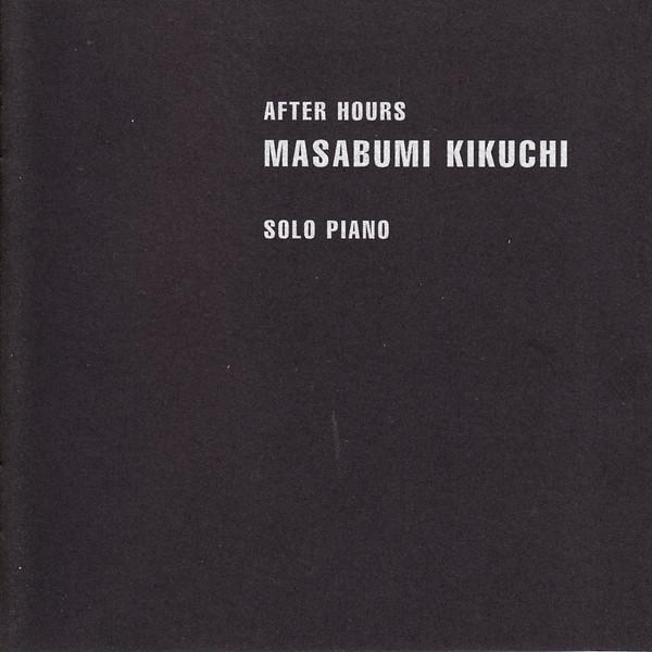 MASABUMI KIKUCHI - After Hours cover