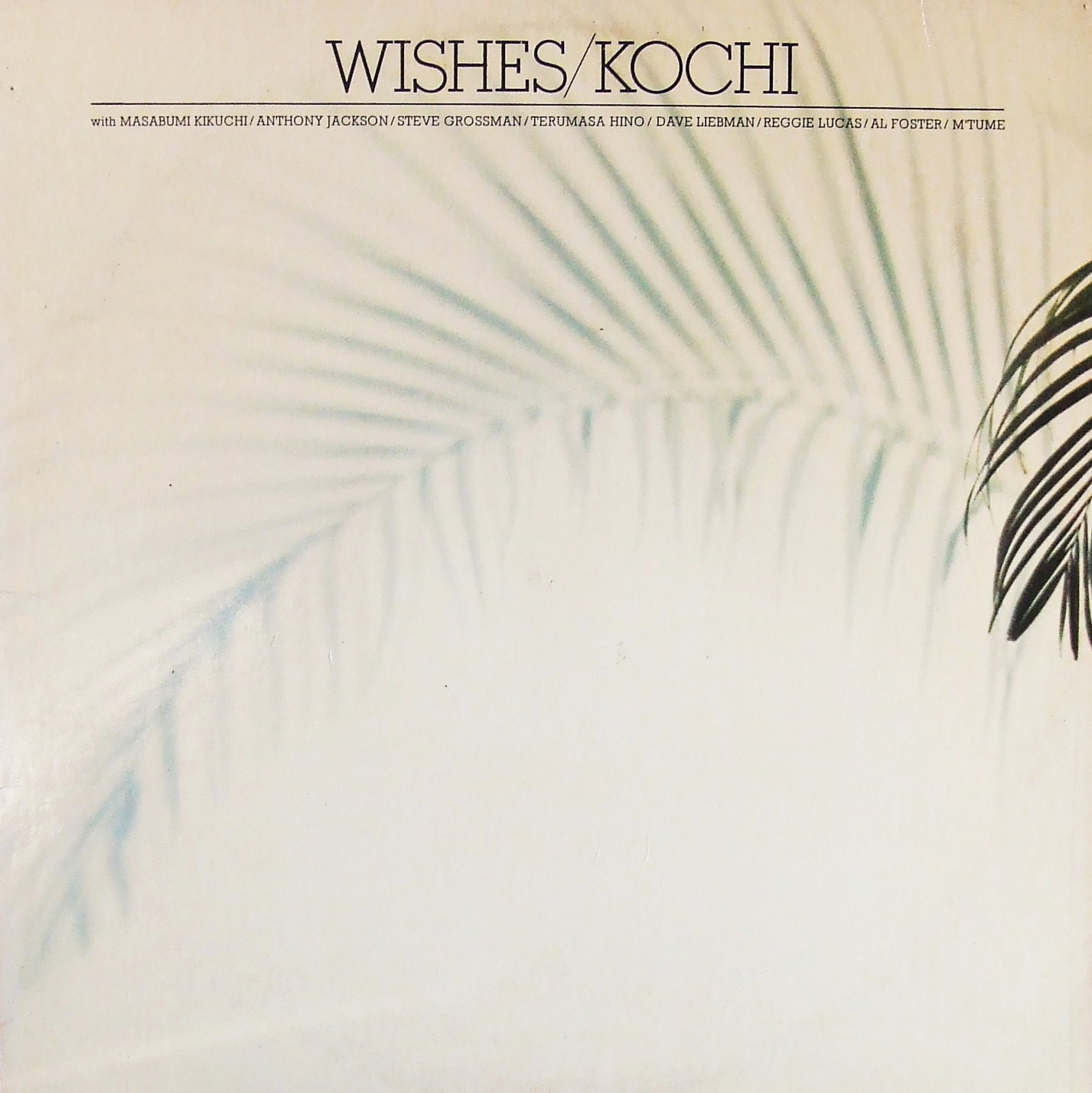 MASABUMI KIKUCHI - Wishes/Kochi cover