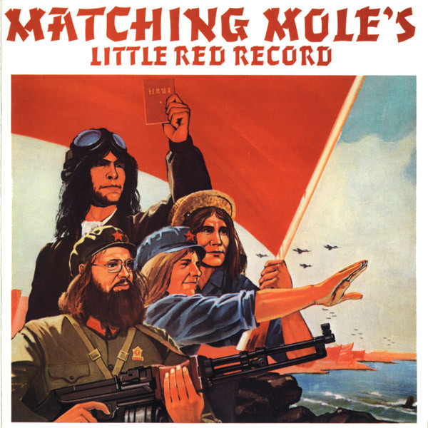 MATCHING MOLE - Matching Mole's Little Red Record cover