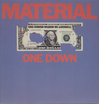 MATERIAL - One Down cover