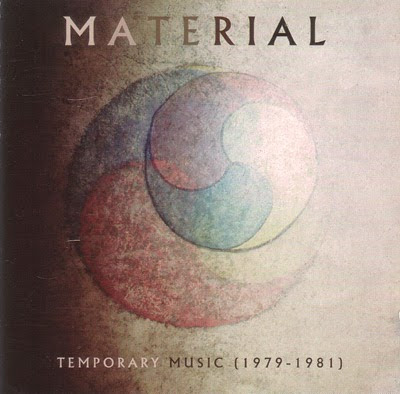 MATERIAL - Temporary Music (1979-81) cover
