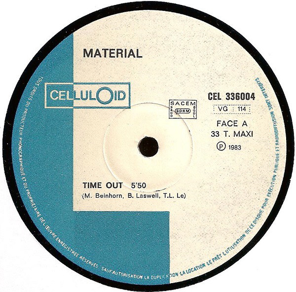 MATERIAL - Time Out cover