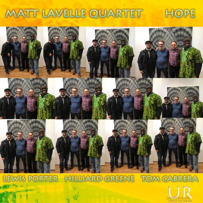 MATT LAVELLE - Matt Lavelle Quartet : Hope cover