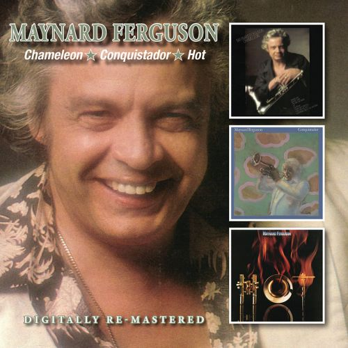 MAYNARD FERGUSON - Chameleon / Conquistador / Hot cover