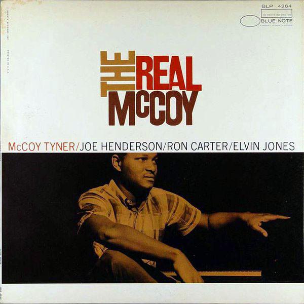 MCCOY TYNER - The Real McCoy cover