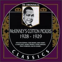 MCKINNEY'S COTTON PICKERS - 1928-1929 cover