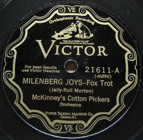 MCKINNEY'S COTTON PICKERS - Milenberg Joys / Shim-Me-Sha-Wabble cover