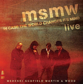 MEDESKI MARTIN AND WOOD - Medeski Scofield Martin & Wood: In Case The World Changes Its Mind cover