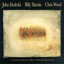 MEDESKI MARTIN AND WOOD - Notes From the Underground cover