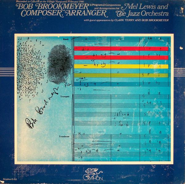 MEL LEWIS - Bob Brookmeyer - Composer & Arranger cover