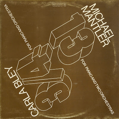 MICHAEL MANTLER - 13 & 3/4 (with Carla Bley) cover