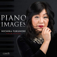 MICHIKA FUKUMORI - Piano Images cover